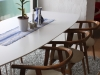 dining table with nice designed chaires